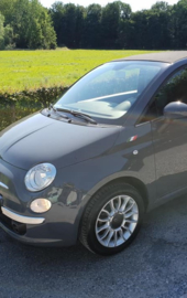 FIAT 500 SPATBORD STICKER  (Rechts + Links)