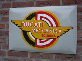DUCATI MECCANICA BOLOGNA 60x40cm