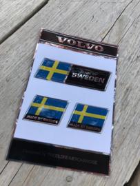 VOLVO Sticketset fancard chroomline