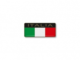 ITALIAN STICKER  ITALIA 40x18mm 2 pc
