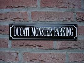 DUCATI MONSTER PARKING