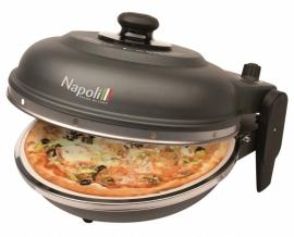 "PIZZAOVEN OPTIMA ""NAPOLI CAST IRON "" + Alu pizzaspatels"
