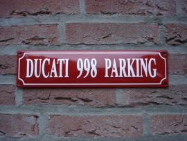 DUCATI 998 PARKING