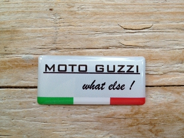 MOTO GUZZI What else !  40x18 mm