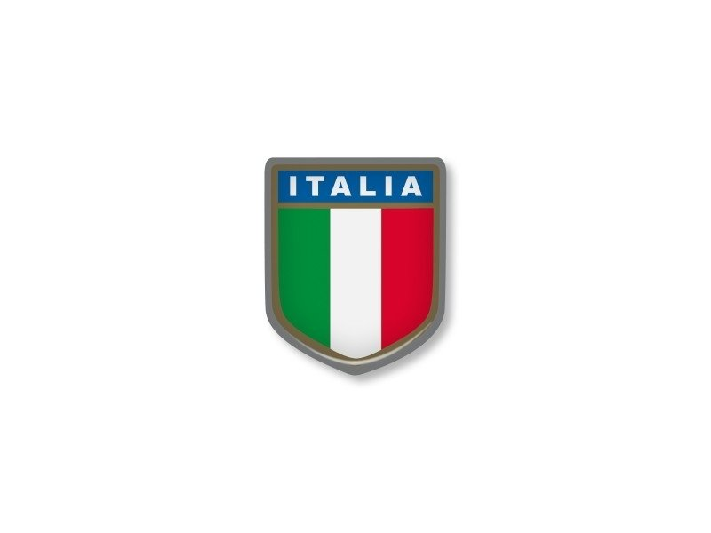 ITALIAN STICKER SQUADRA 26x34mm 2 pc