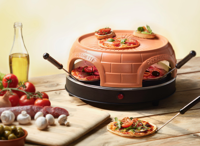 PIZZARETTE OVEN 4 persoons  NEW MODEL