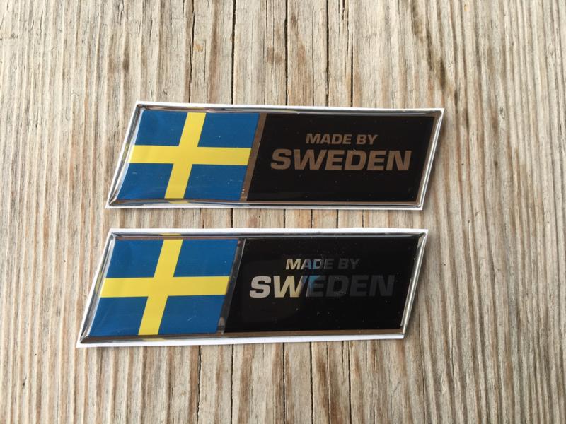 Volvo Stickers Afm 85x25mm Chroomline 2 Stuks Made By Sweden