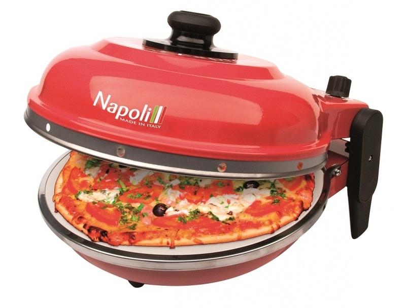 """PIZZAOVEN OPTIMA  """"NAPOLI ROSSO"""" + Alu pizzaspatels"""