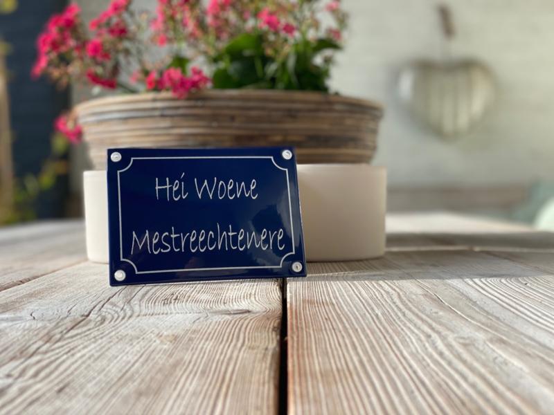 Muurbordje Hei Woene Mestreechtenere