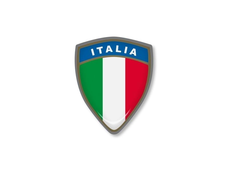 ITALIAN STICKER SQUADRA 35x45mm 1 pc