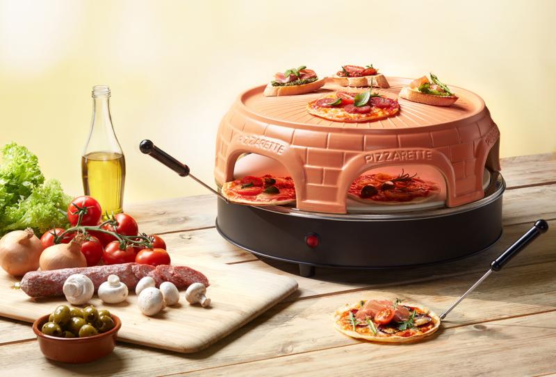Pizzarette 6 Persoons.Pizzarette Oven 6 Persoons New Model Minipizza S Voor