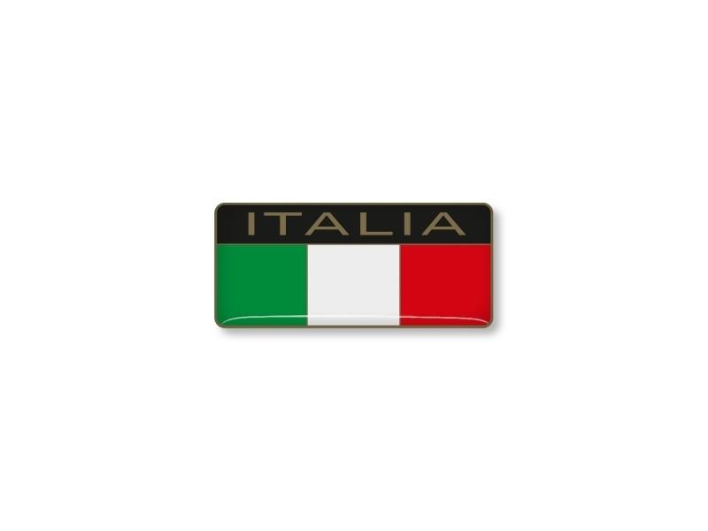 ITALIAN STICKER  ITALIA 40x18mm 2 pc