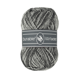 Durable Cosy Fine Faded - Black no. 325