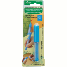 Clover Chaco Liner Pen Style blauw