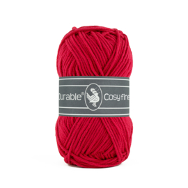 Durable Cosy Fine Deep Red 317