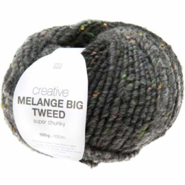 Creative Melange Big Tweed - Antraciet no. 002