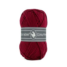 Durable Cosy Fine Bordeaux 222