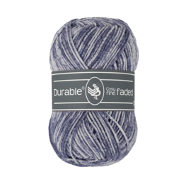 Durable Cosy Fine Faded - Navy no. 321