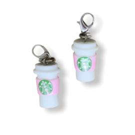 Stekenmarkeerder Starbucks beker pink
