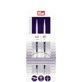 Rondbreinaalden Prym Ergonomics 80 cm 6,0 mm