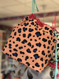 Project Bag Panther Dots Handmade !