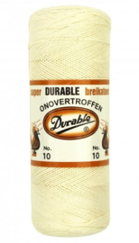 Durable breikatoen no. 10 Creme