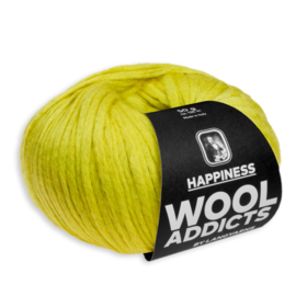 Wooladdicts HAPPINESS no. 1013.0050 Geel