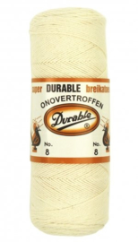 Durable breikatoen no. 8 Creme