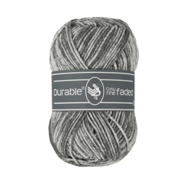 Durable Cosy Fine Faded - Charcoal no. 2237