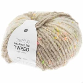 Creative Melange Big Tweed - Zilvergrijs no. 001