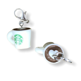 Stekenmarkeerder Starbucks beker cappuccino