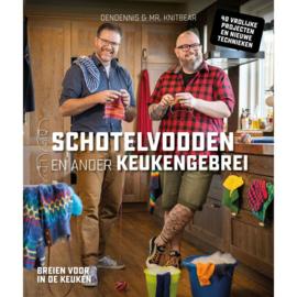 Zondag 19 december 2021 Schotelvodden breien met Mr. Knitbear