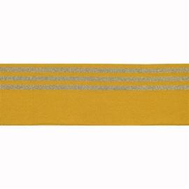 Boord lurex streep oker - col. 653