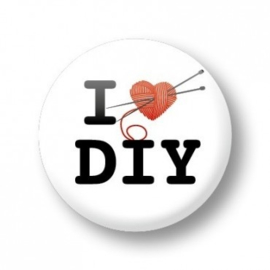 Button 'I love DIY'