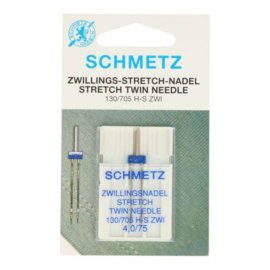 Schmetz Tweeling Stretch 4,0/75 Naaimachine naald