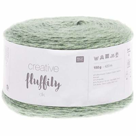 Creative Fluffily dk -- Vintage Green no. 008