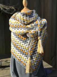 Haakpakket Summer Granny Sjaal