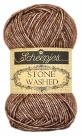 Scheepjeswol Stone Washed Brown Agate  822