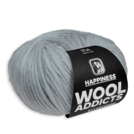 Wooladdicts HAPPINESS no. 1013.0024 Grey