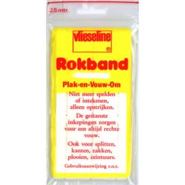 Vlieseline Plak En Vouw Rokband 30mm