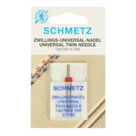 Schmetz Tweeling Universeel 2,5/80 Naaimachine naald