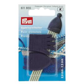 Prym naaldbeschermers sokkennaalden maat 2,0 - 2,5 mm