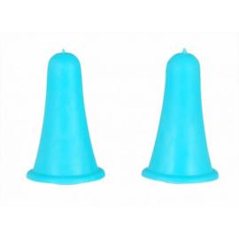 Knit Pro Puntbeschermers Blauw (maat 2 tot 5 mm)