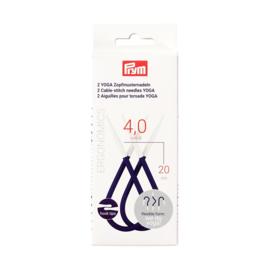 Prym Yoga hulp/kabelnaalden 4,0 mm