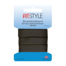 Restyle Broekstootband 15mm - Grijs no. 960