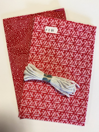DIY Pakket mondmasker roze -- no. 201
