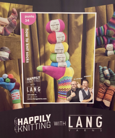 Punto 34 LANGyarns - How to knit socks