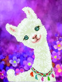 DIAMOND DOTZ LULU LLAMA - NEEDLEART WORLD
