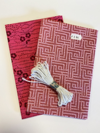 DIY Pakket mondmasker roze -- no. 204