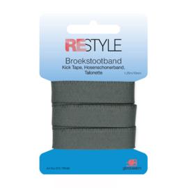 Restyle Broekstootband 15mm - Grijs no. 002